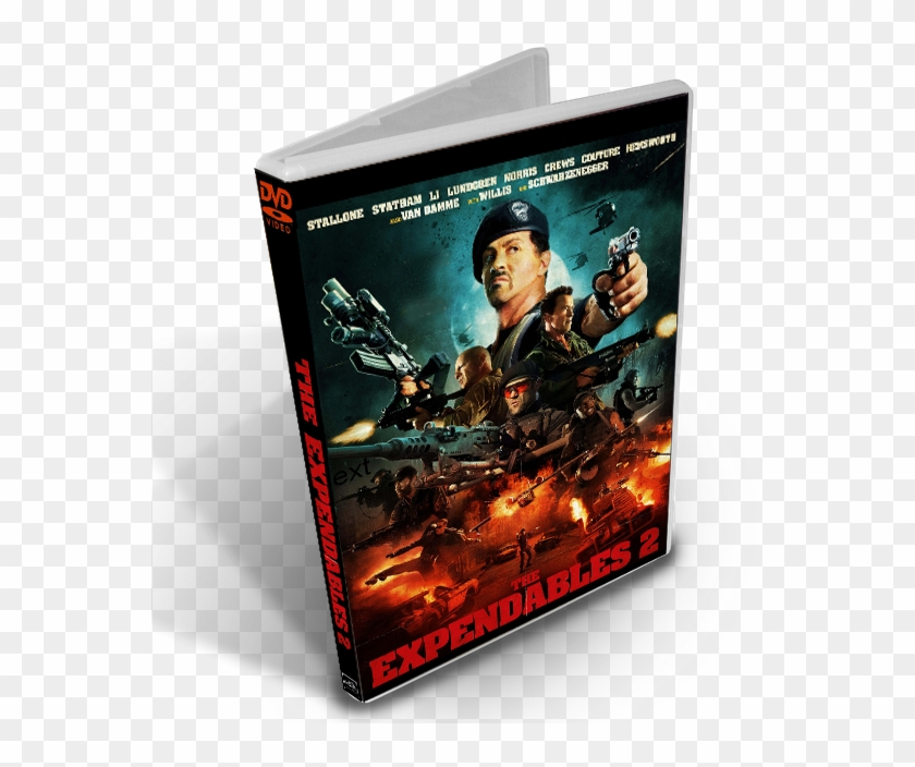 Los Indestructibles 2 Dvdrip Español Latino - Expendables 2
