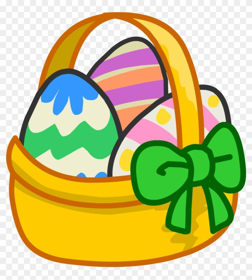 Easter Egg Images Pics - Easter Egg Basket Cartoon #901788