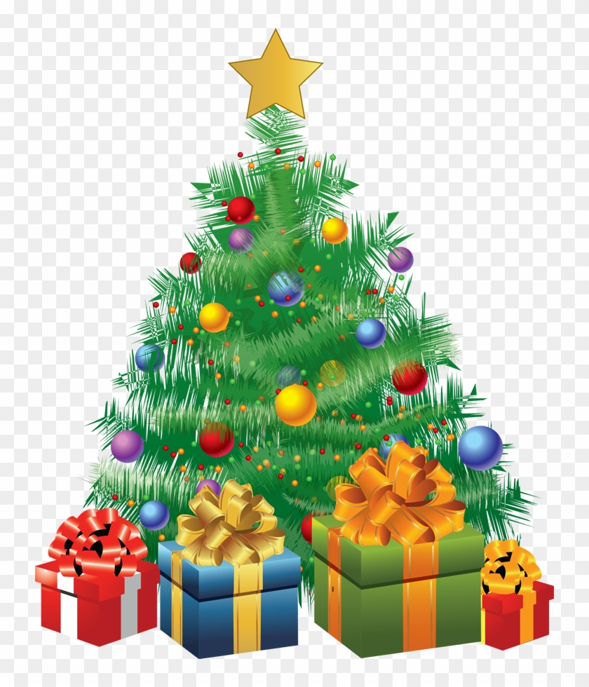 Christmas Tree With Gifts Animated 901839
