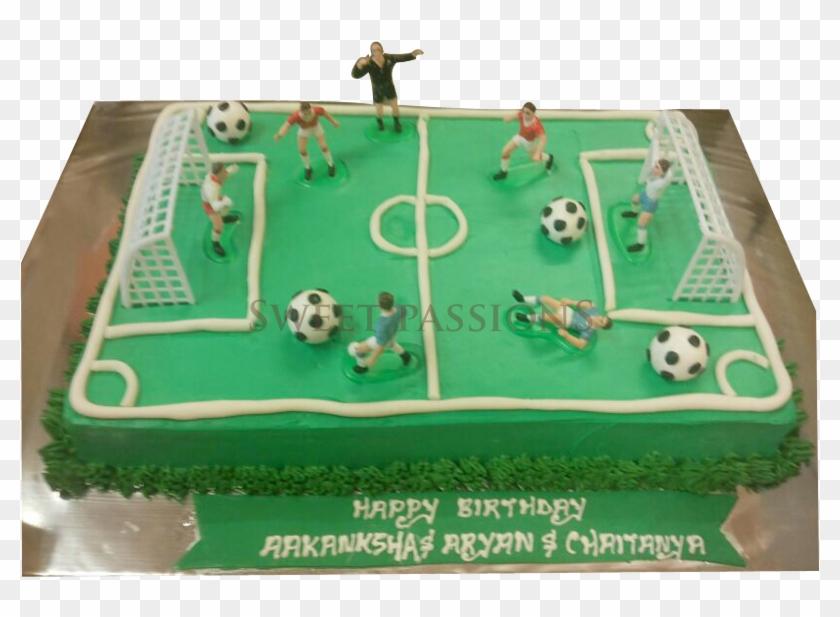 Football Field Cake - Football Ground Cake Design #901976