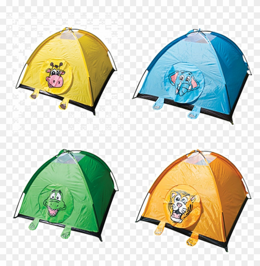 Yellowstone Jungle Animal Camping Play Tent - Yellowstone Jungle Animal Camping Play Tent - Tiger #902083