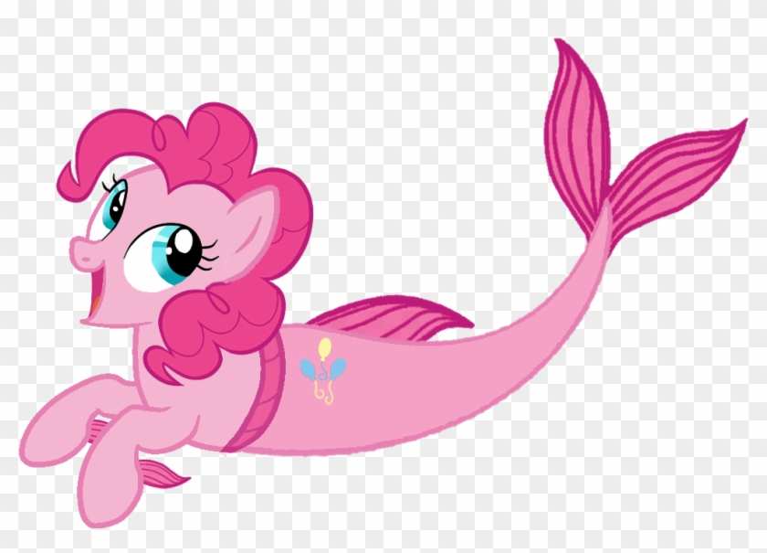 Pinkie Pie My Little Pony Rarity Mermaid My Little Pony Pinkie Pie Mermaid Free Transparent Png Clipart Images Download