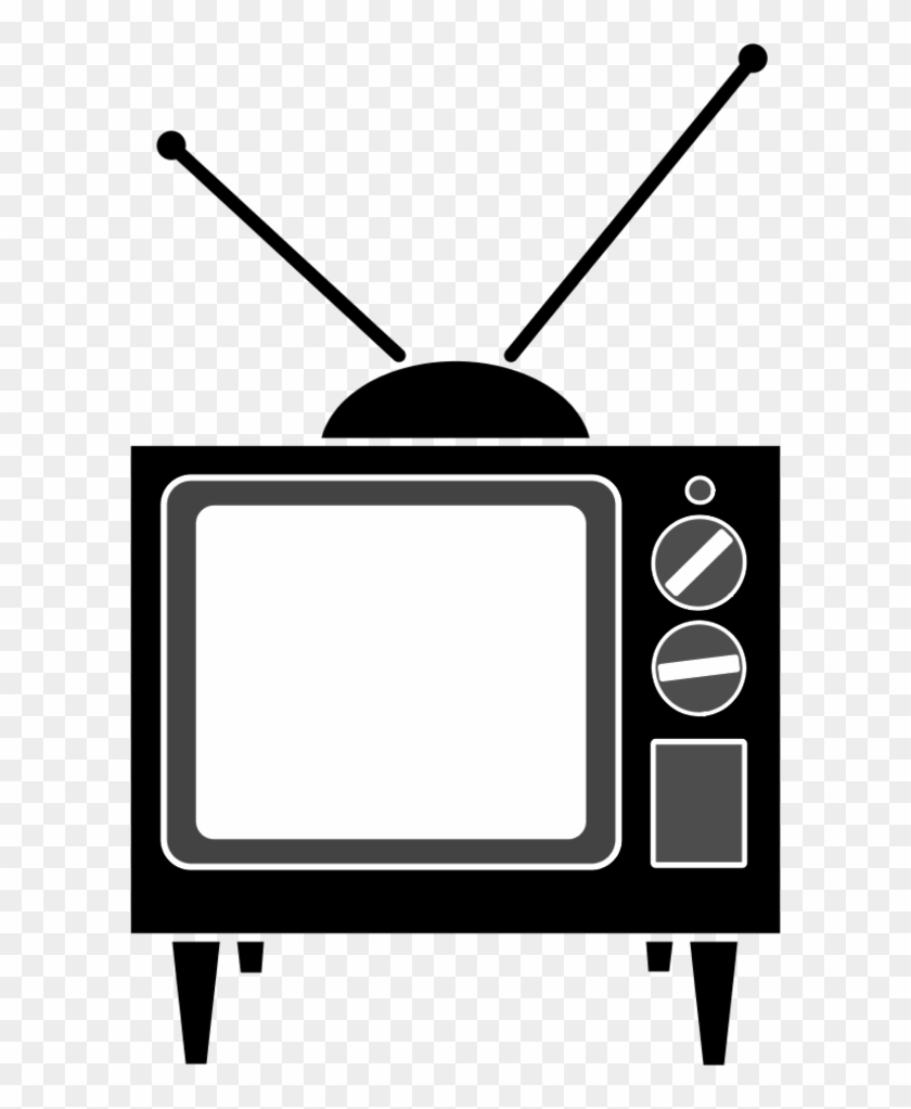 Illustration By Vector Tradition Television Antenna - Old Tv Clipart #903773
