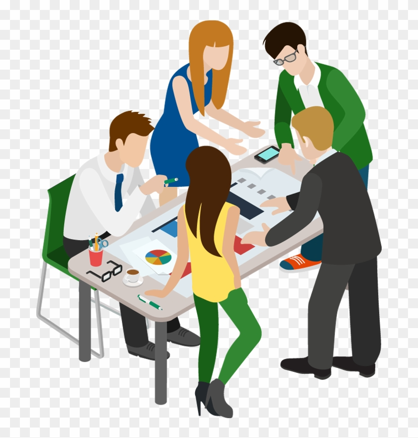 Graphics For Cartoon Business People Graphics Cartoon Business Meeting Free Transparent Png Clipart Images Download