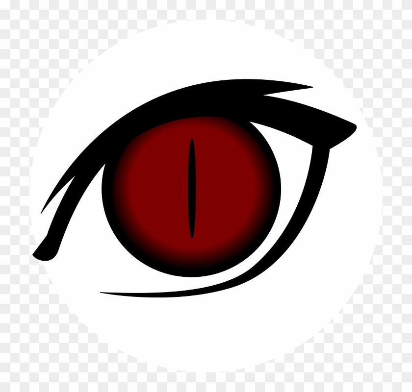 Red Eyes Clipart Transparent