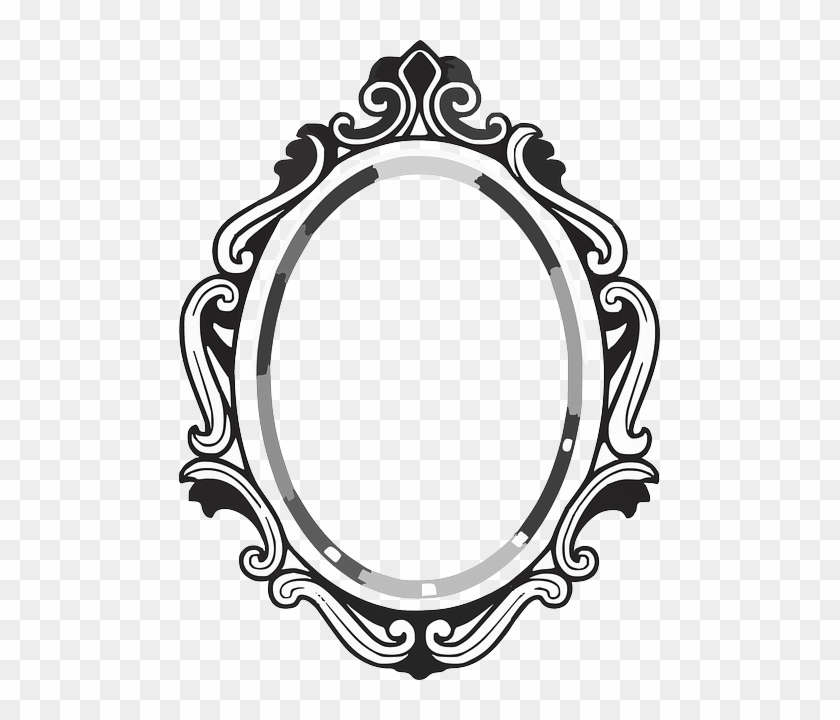 Photo Courtesy Of Pixabay Fancy Mirror Drawing Free Transparent