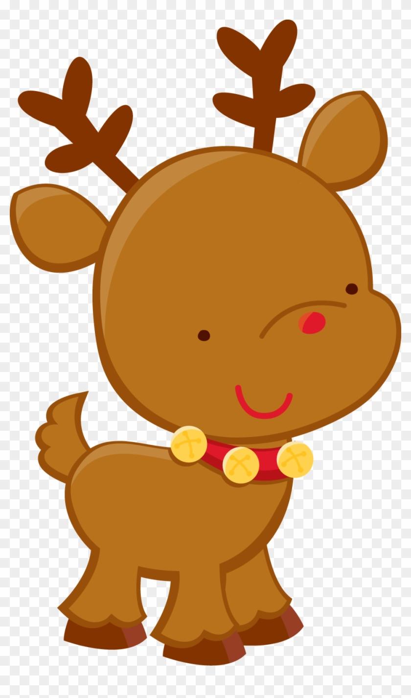 Christmas Reindeer Clip Art - 2nd Christmas Shirt #18060