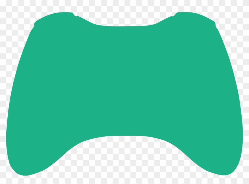 Full Controller Support Vector Graphic - Xbox One Controller Outline Clipart #18095