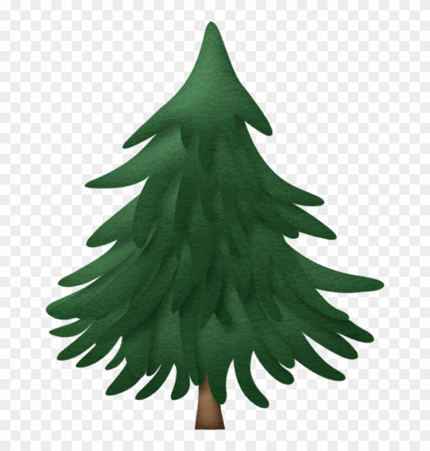 Pine Tree - Clip Art Christmas Pine Tree #18120