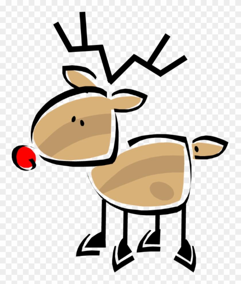 Reindeer Clipart Dash - December Clip Art #18163
