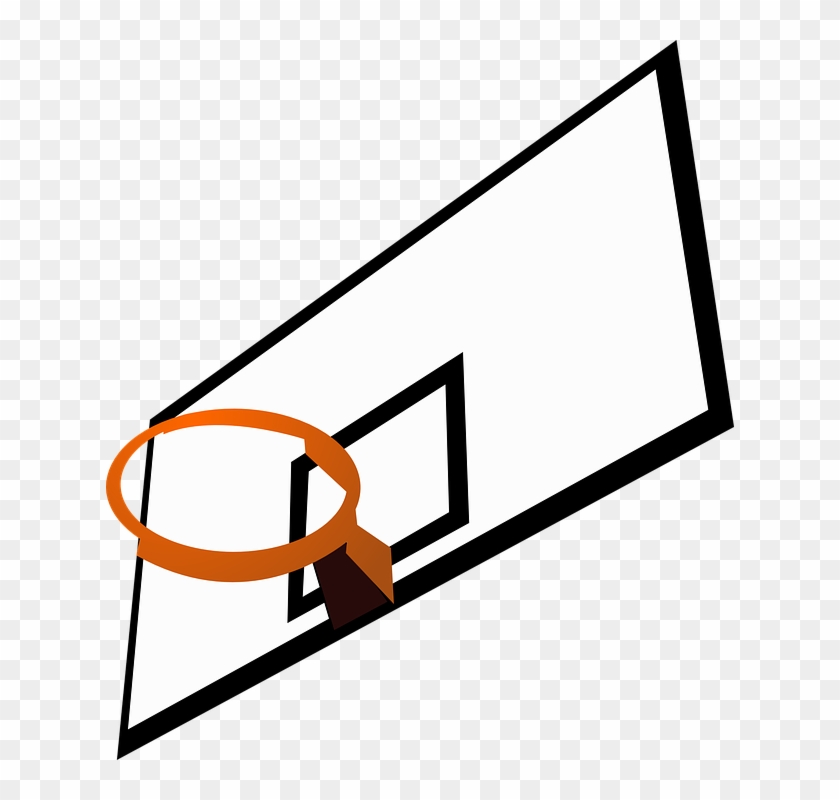 Clip Arts Related To - Basketball Hoop Clip Art #18184