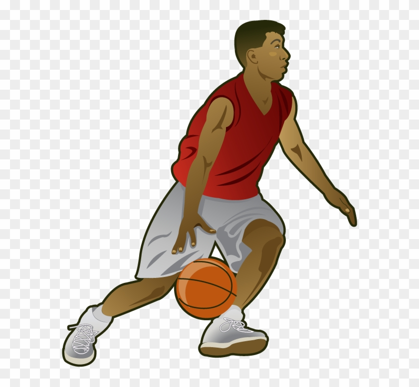 Clipart Basketball Player #18190