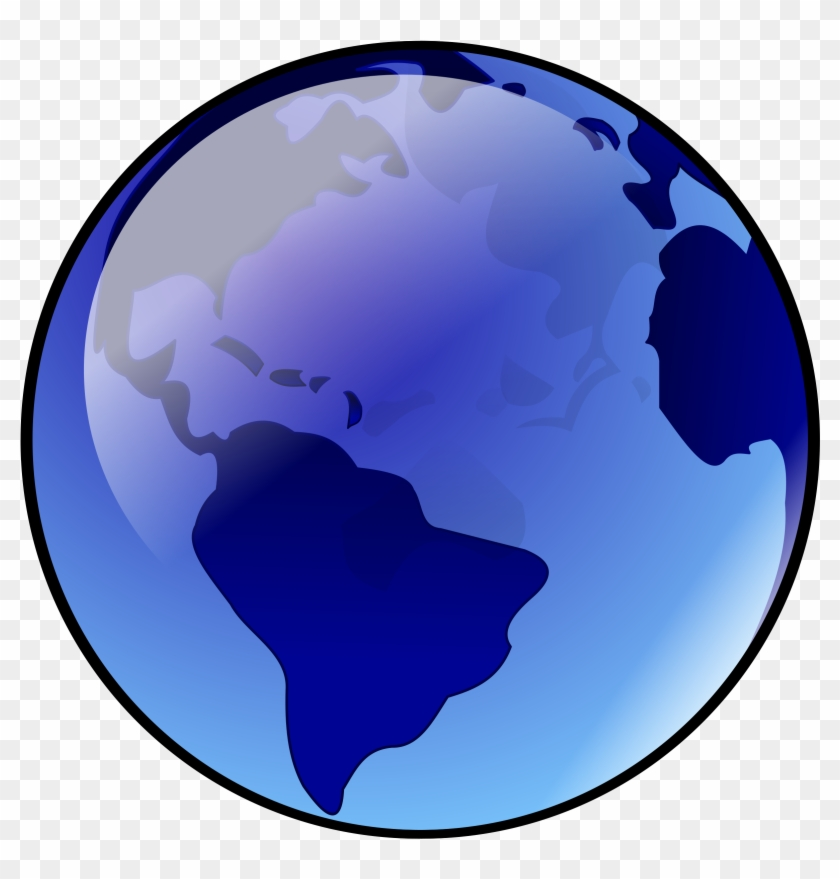 Big Image - Spinning Earth Clipart Gif #18191