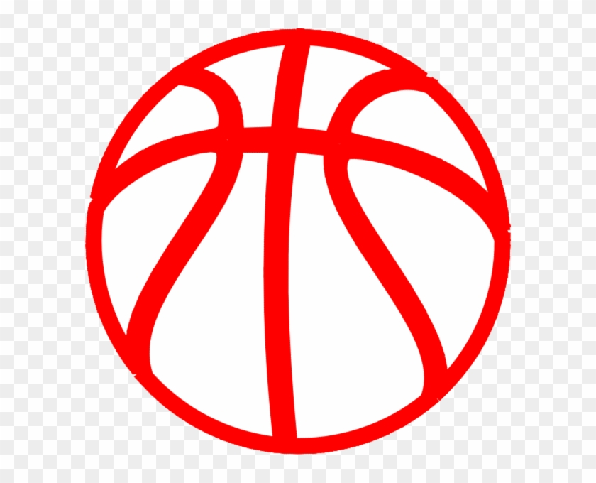 Red And White Basketball Clipart #18216