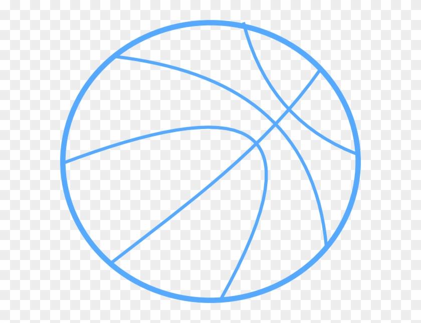 Basketball Clipart Blue #18231
