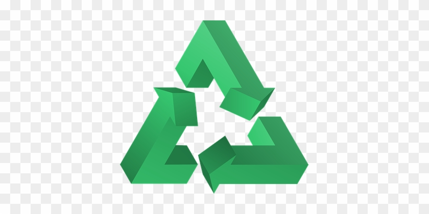 Recycle Triangle Symbol Sustainability Rec - Three R's Of Recycling #18251