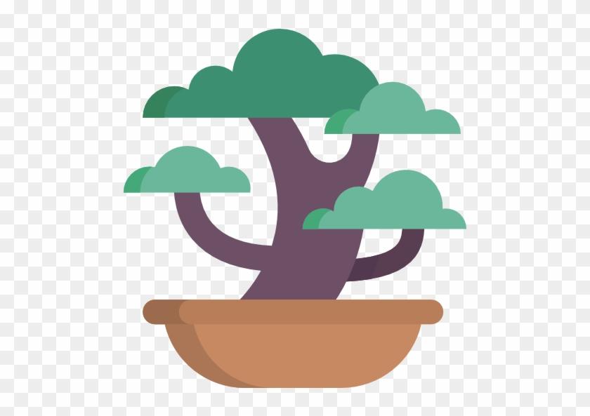Bonsai Free Icon - Emblem #18257