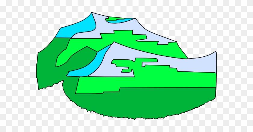 Green Mountains Clip Art Free Vector 4vector - Clip Art #18277