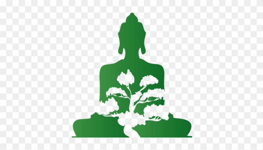 Bonsai Buddha - Icon Buddha Png Green #18330