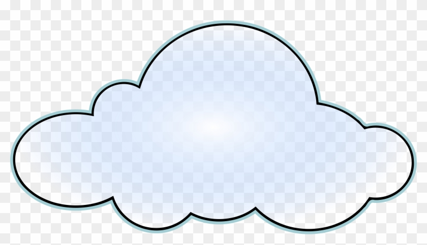 Image Of Cloud Clip Art - Clouds Clipart #18338
