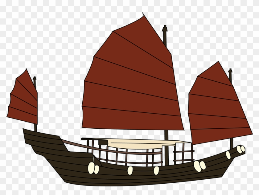 Clipart Info - Hong Kong Boat Clipart #18353