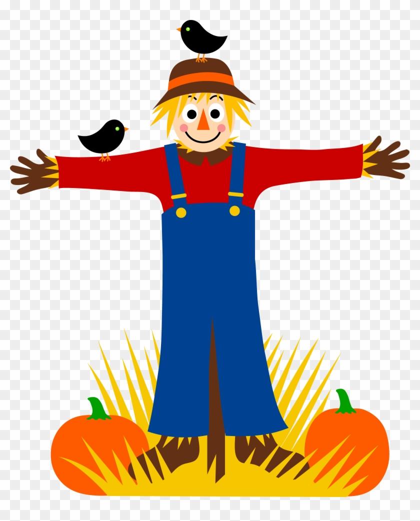 Scarecrow Clip Art - Scarecrow Clip Art #18398