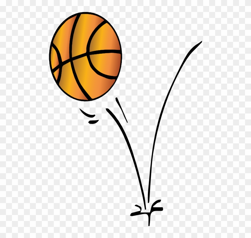 Basketball Clipart - Basketball Bouncing Clip Art #18402