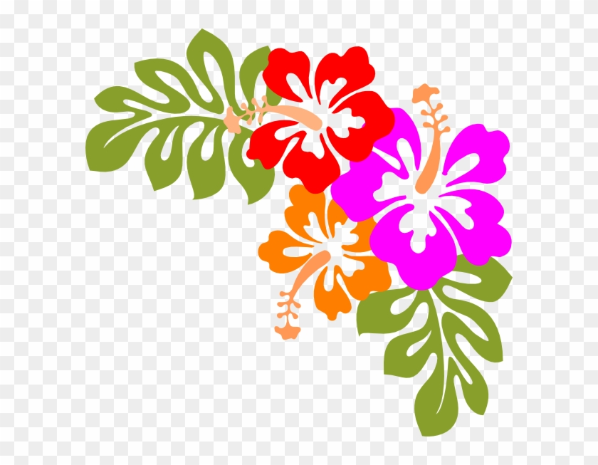 Hawaiian Shirt Clip Art Free Clipart Images - Hawaiian Flowers Transparent Background #18411