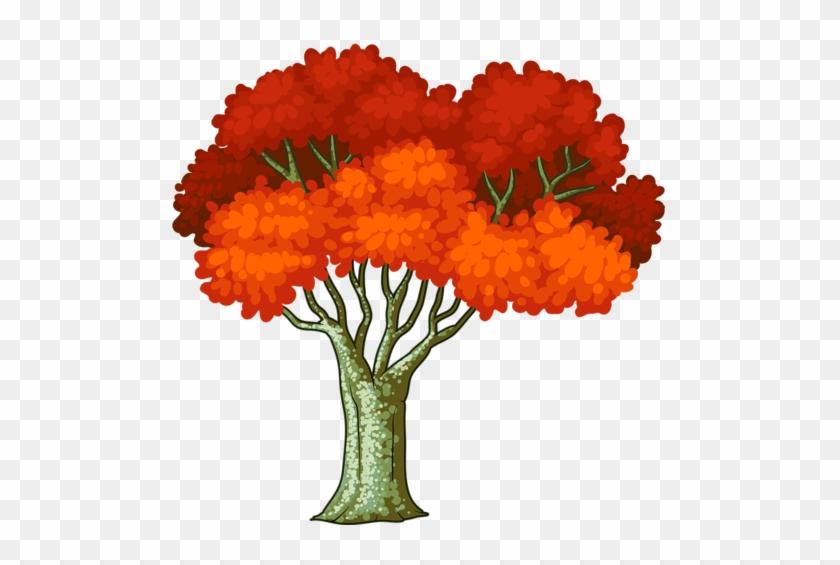 Tube Tree, Leaf Etc - Belle Soirée Gif Animé #18421