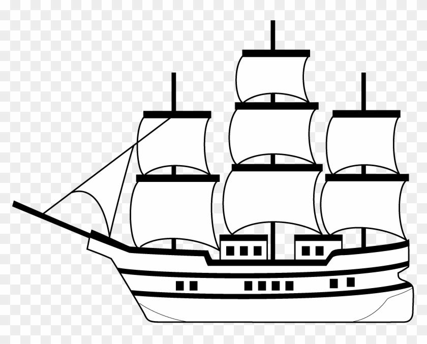 Caravel Ship Boat Drawing Clip Art Slave Ship Clip Art Free