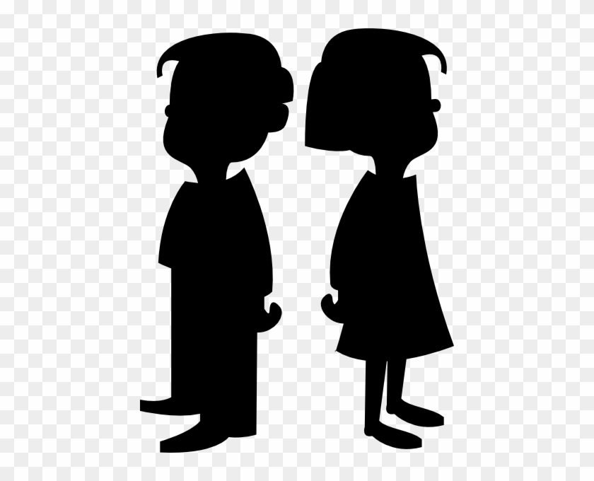 Cartoon boy and girl clip art thick thighs