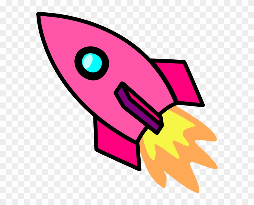 Cartoon Rocket Ship Clipart - Rocket Clipart #18473