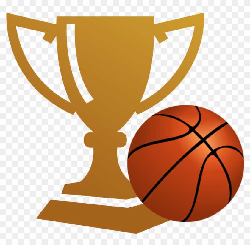 Trophy Clipart Basketball Championship - Basketball Clip Art #18485