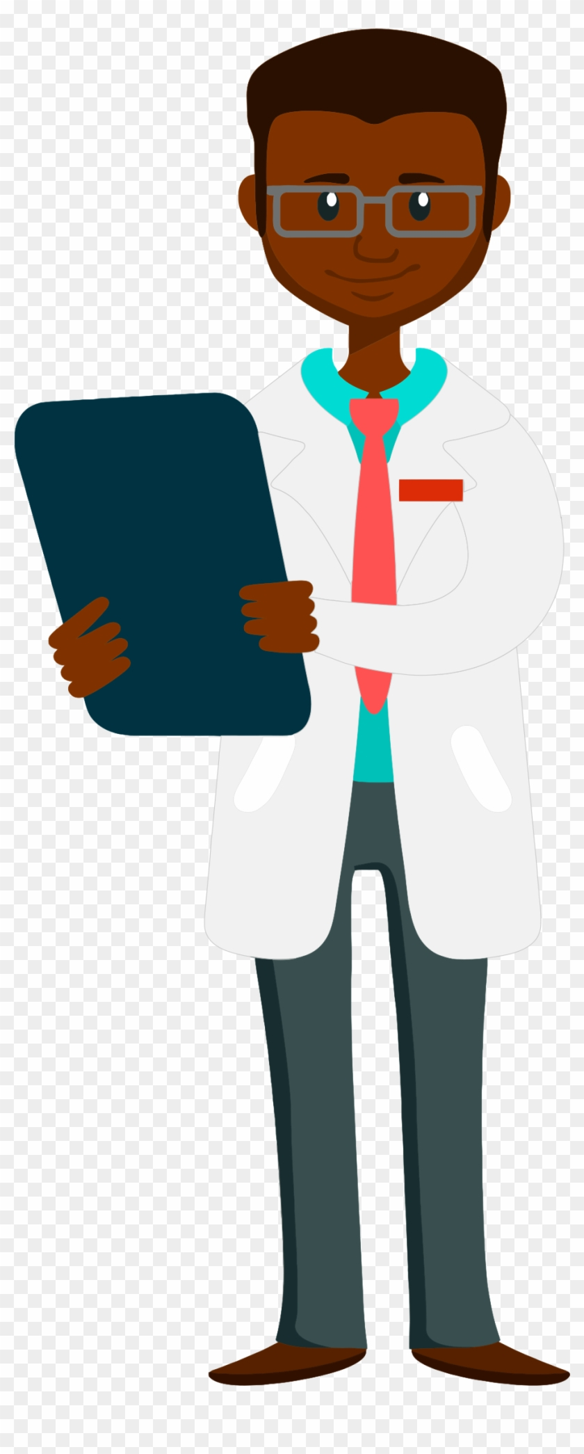 Doctor - African American Doctor Clipart #18491