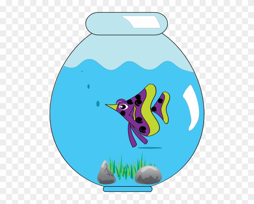 Fish Bowl Clipart Free Download Clip Art On - Fish In A Bowl Clipart Png #18506