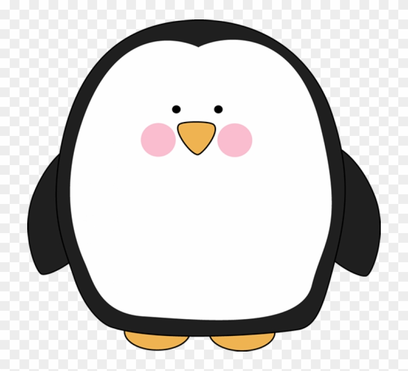 Chubby Penguin - Cute Penguin Clipart #18526