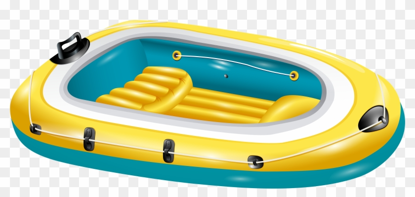 Summer Boat Transparent Clip Art Image Gallery Yopriceville - Inflatable Boat Clipart #18555