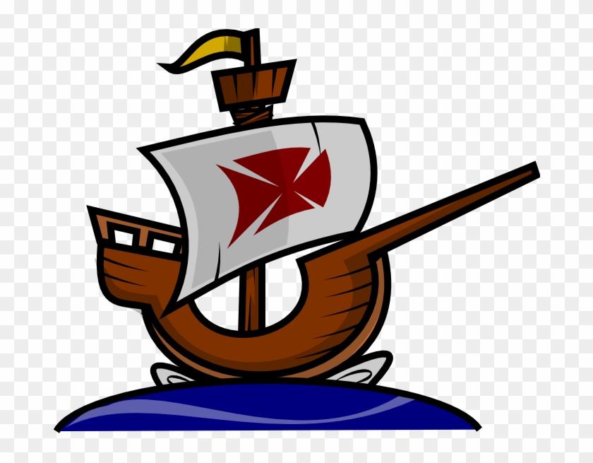 Boat Free To Use Clip Art - 12 De Octubre Carabelas #18556