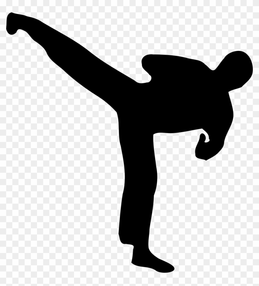 Silhouette Clip Art Images Illustrations Photos - Tae Kwon Do #18562