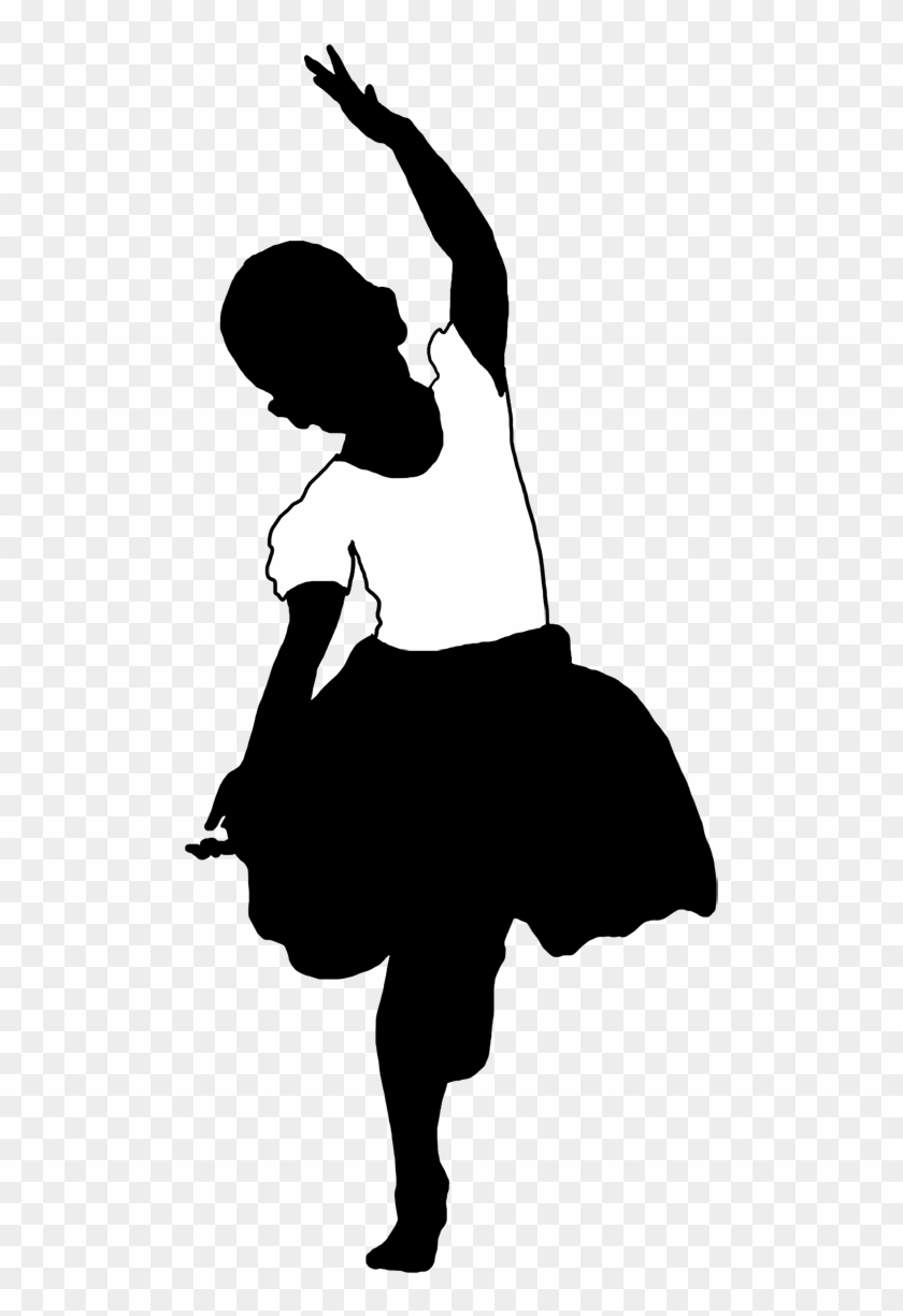Beautiful Silhouettes Of Children - Silhouette #18563