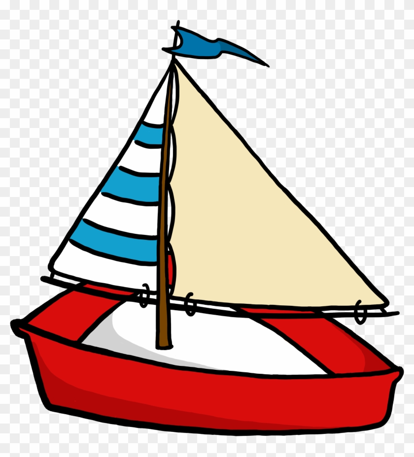 Clip Art Boat Png - Boat Cartoon Transparent Background #18575