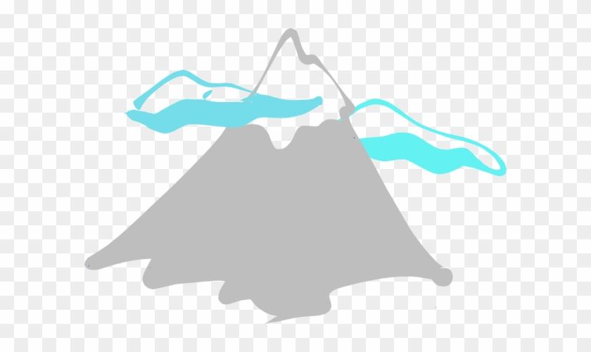 Mountains Mountain Clipart Mountain Peak Logo Clip - Mountain Peak Clip Art #18612