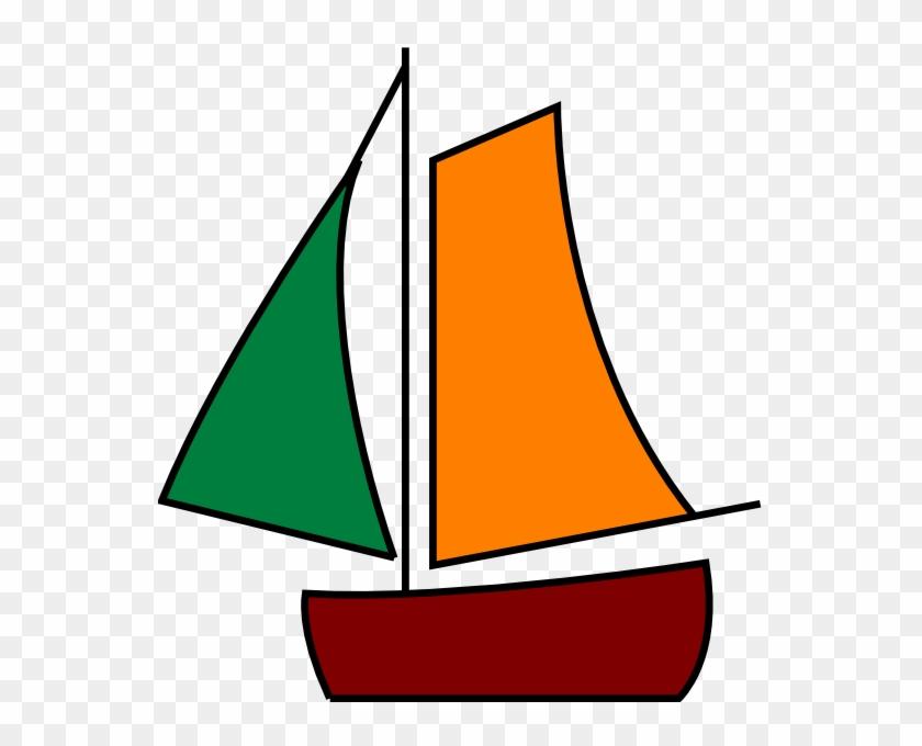 Sailing Boat White Clip Art - Sail #18633