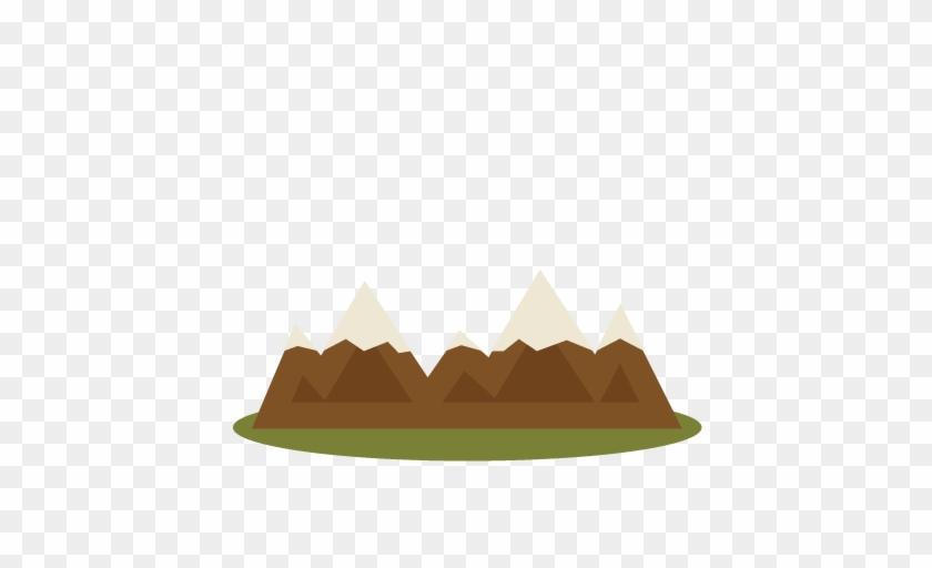 Mountain Clipart Cute - Mountain Clipart Cute #18638