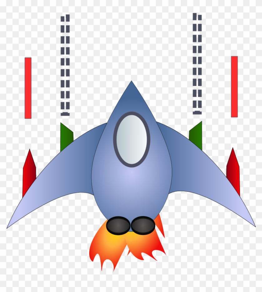 Space Ship Clipart, Vector Clip Art Online, Royalty - Space Ship Clip Art #18648