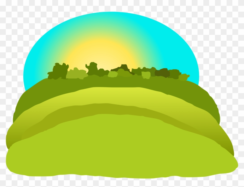 Hill Clipart Hill Mountain - Hill Png Clipart #18665