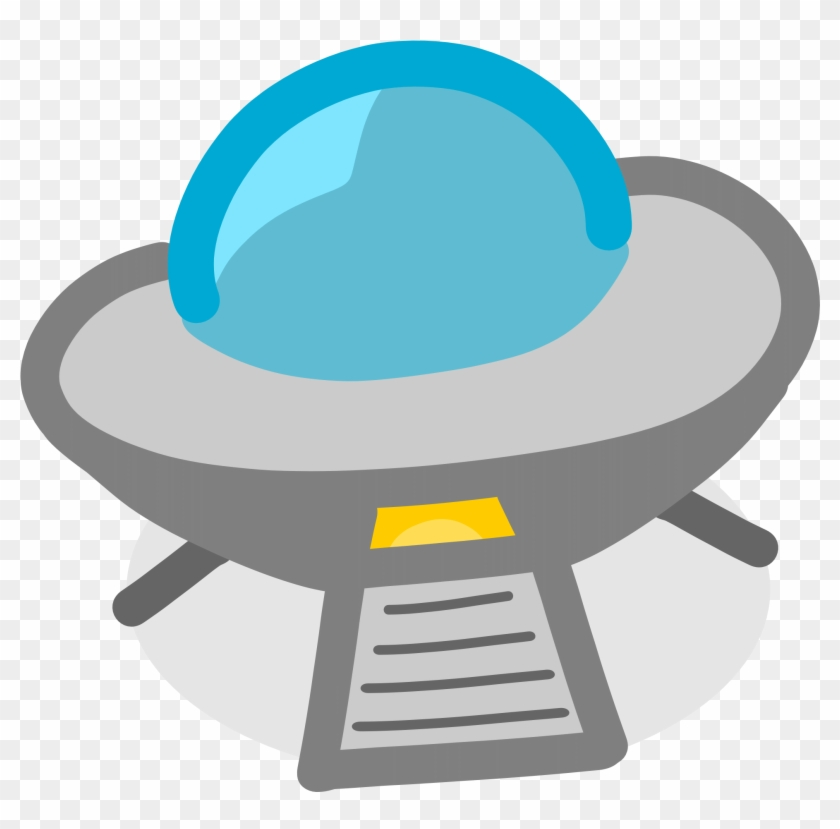 Ufo Medium 600pixel Clipart, Vector Clip Art - Ufo Cartoon Transparent Background #18661