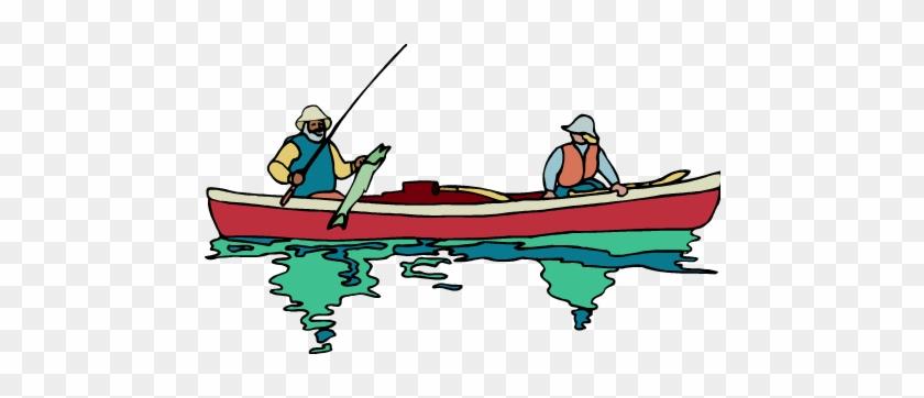 Fishing Boat Clipart Bible - Fisherman Boat Png #18664