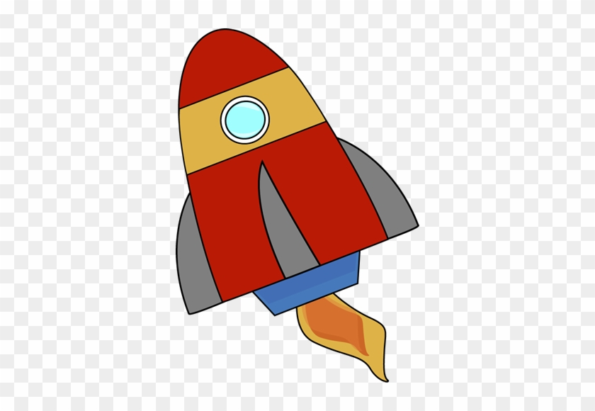 Red Rocket - My Cute Graphics Rocket #18672