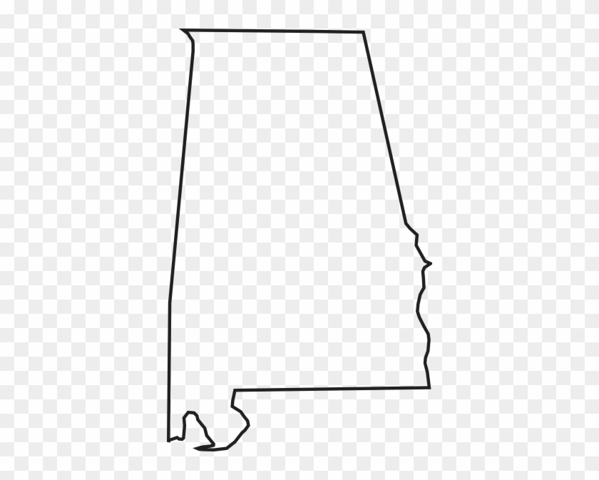 Font Alabama A For Silhouette - Alabama State Outline Vector #18676